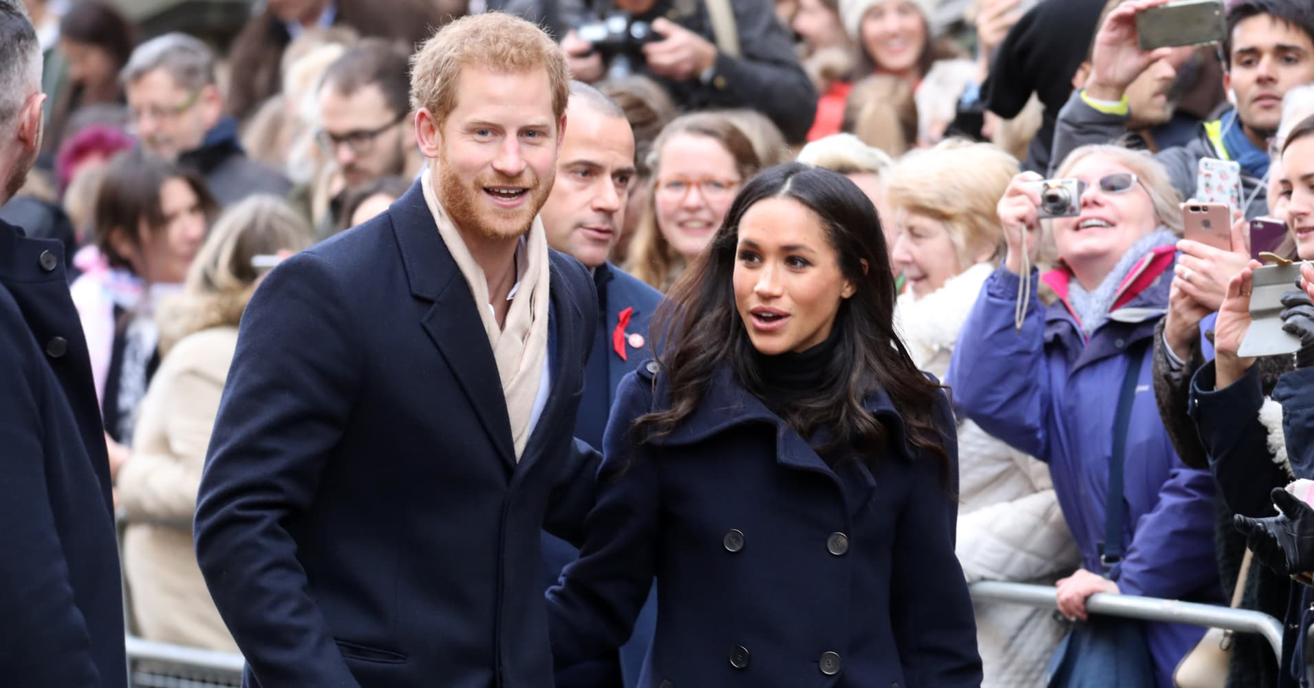 the royal wedding may cost 43 million and 94 of that is for security
