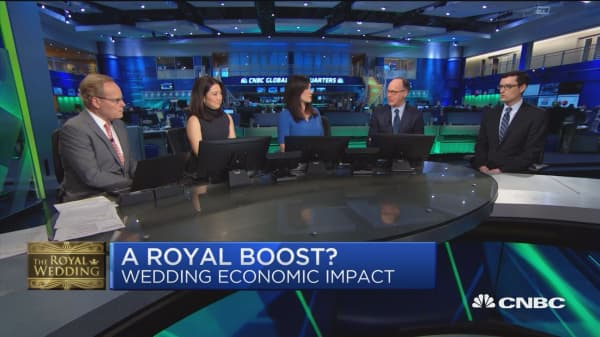 Royal Wedding's $1B boost