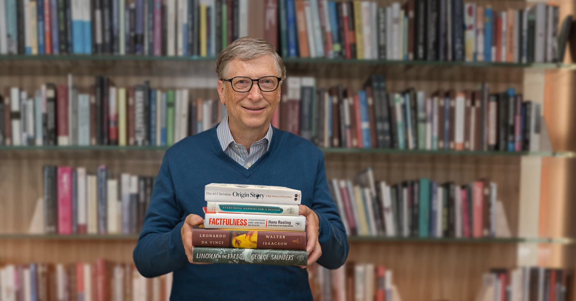 Bill Gates: These 3 books 'opened a new world for me'