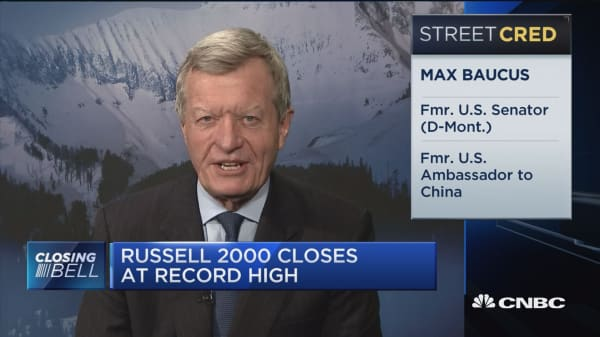 Baucus: Trump may give in on China trade to get Kim Jung Un