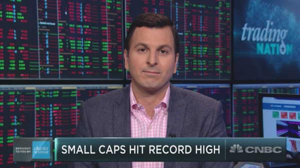 Small cap stocks in 'early innings' of record run, Wall Street veteran says