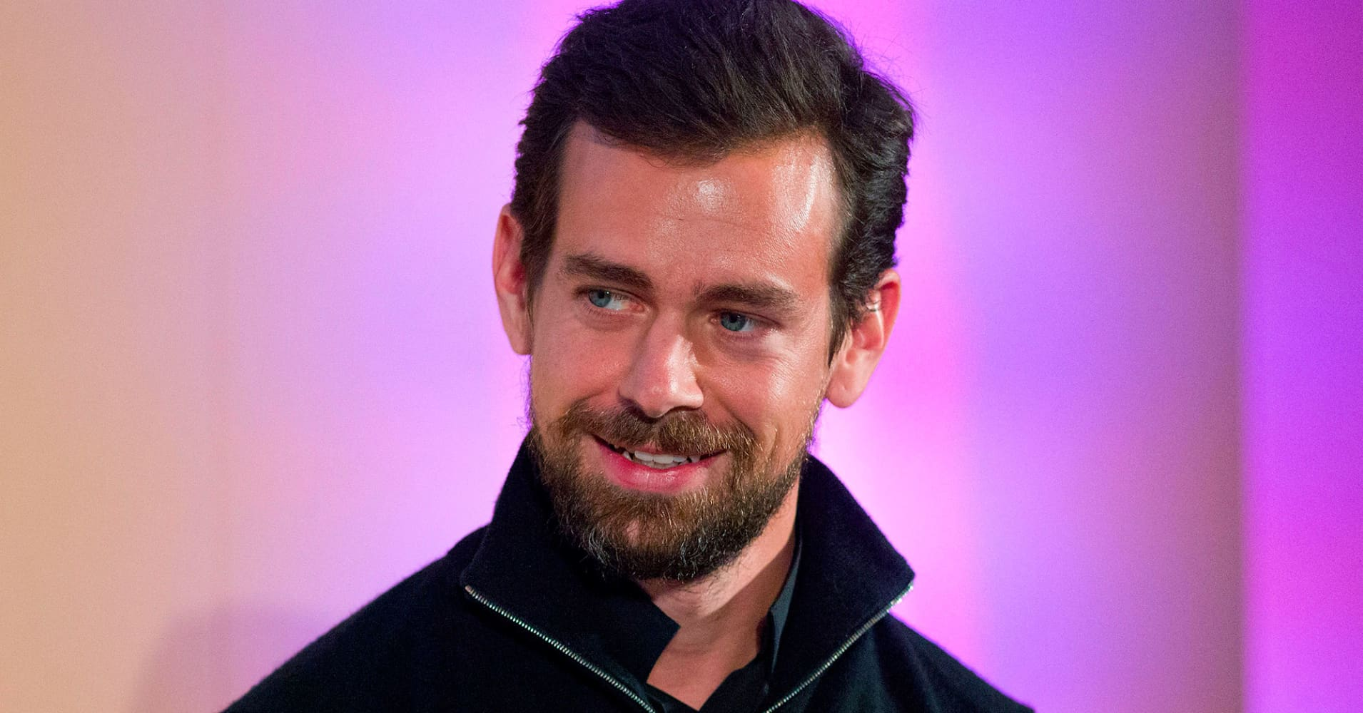 Jack Dorsey, CEO of Square, Chairman of Twitter and a founder of both, holds an event in London on November 20, 2014.
