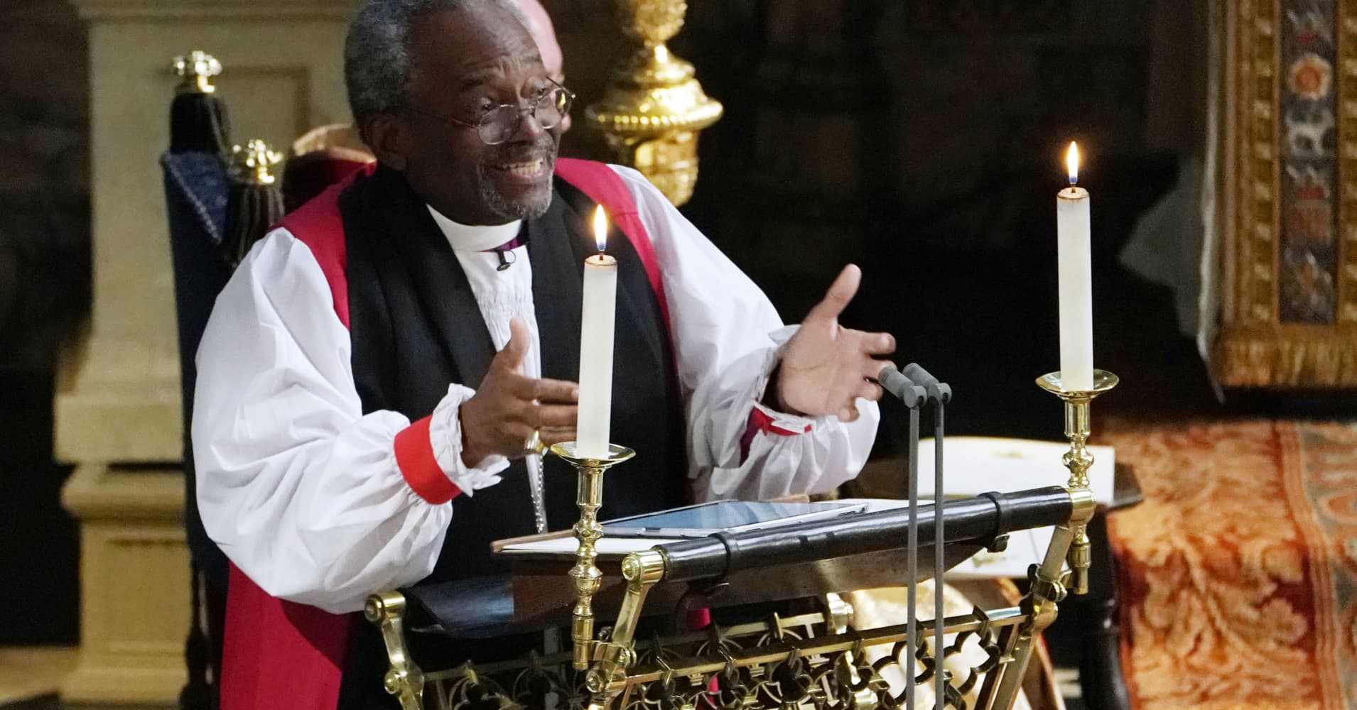 'The Power of Love': address by US bishop at Prince Harry and Meghan Markle's royal wedding