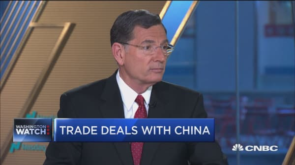 Sen. Barrasso: I'm much more of a free traders