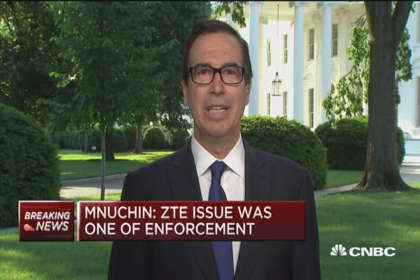 Mnuchin: This is a trade 'dispute' not trade war