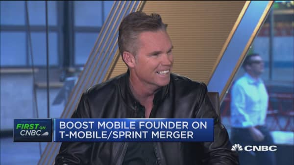 T-Mobile-Sprint merger could limit competition, says Boost Mobile founder. Here's how
