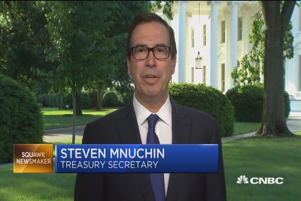 Secretary Mnuchin: We've made meaningful progress on China trade talks