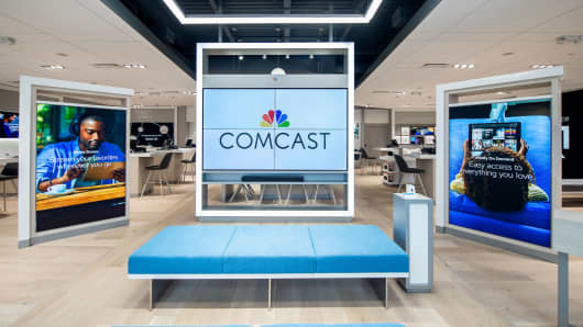 Comcast launched a new interactive Xfinity retail store, created to provide customers an immersive destination to discover Xfinity products and services.