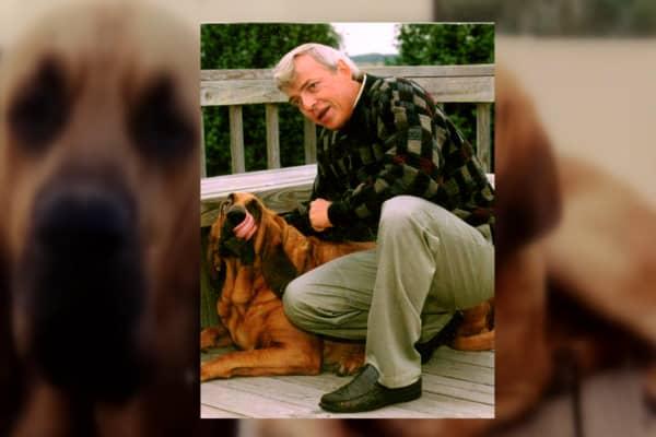 The idea for Neuticles came when Miller's dog Buck ran away.