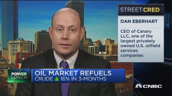 I think we are on the verge of falling off a cliff with Venezuelan oil production: Dan Eberhart