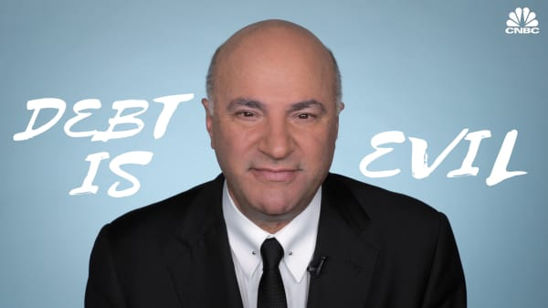 Kevin O'Leary: Here's the age by which you should have your debt paid off