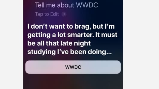 Siri says it's getting an upgrade soon, probably in iOS 12.