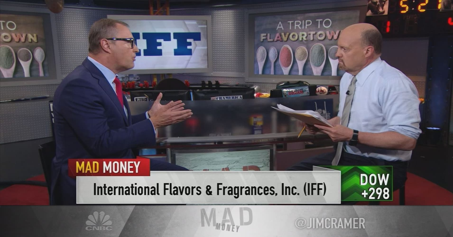 International Flavors & Fragrances CEO on $7 1B deal: Demand for 'naturals'  is here to stay