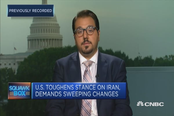 The 'Plan B' from the US on Iran is more pressure