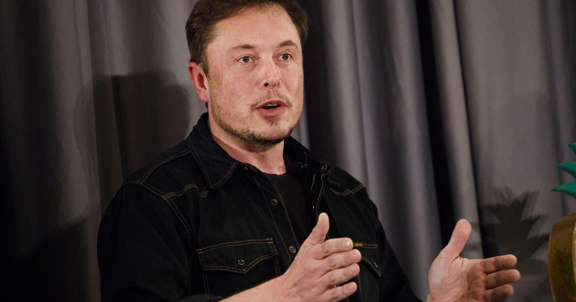 Elon Musk, co-founder and chief executive officer of Tesla Inc.