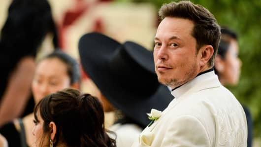 Business magnate Elon Musk.