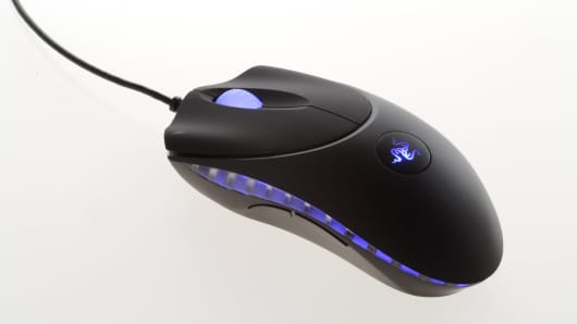 A 2005 Razer Copperhead gaming mouse