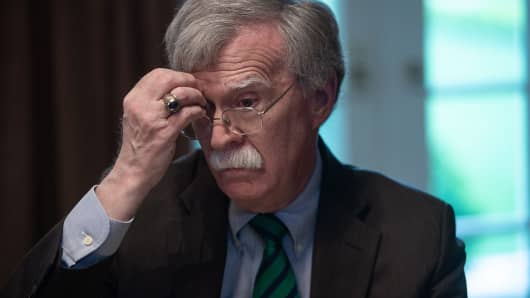National Security Adviser John Bolton.