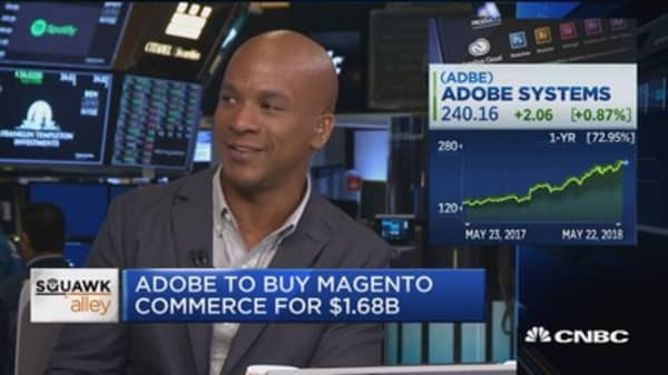 Adobe to buy Magento for $1.68 billion
