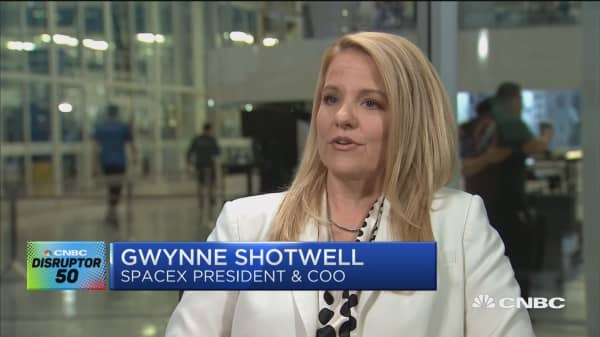 CNBC speaks to SpaceX president Gwynne Shotwell