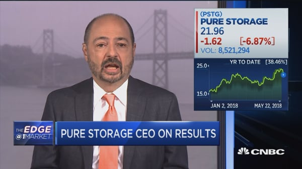 Pure Storage CEO: More and more data wants to be kept accessible