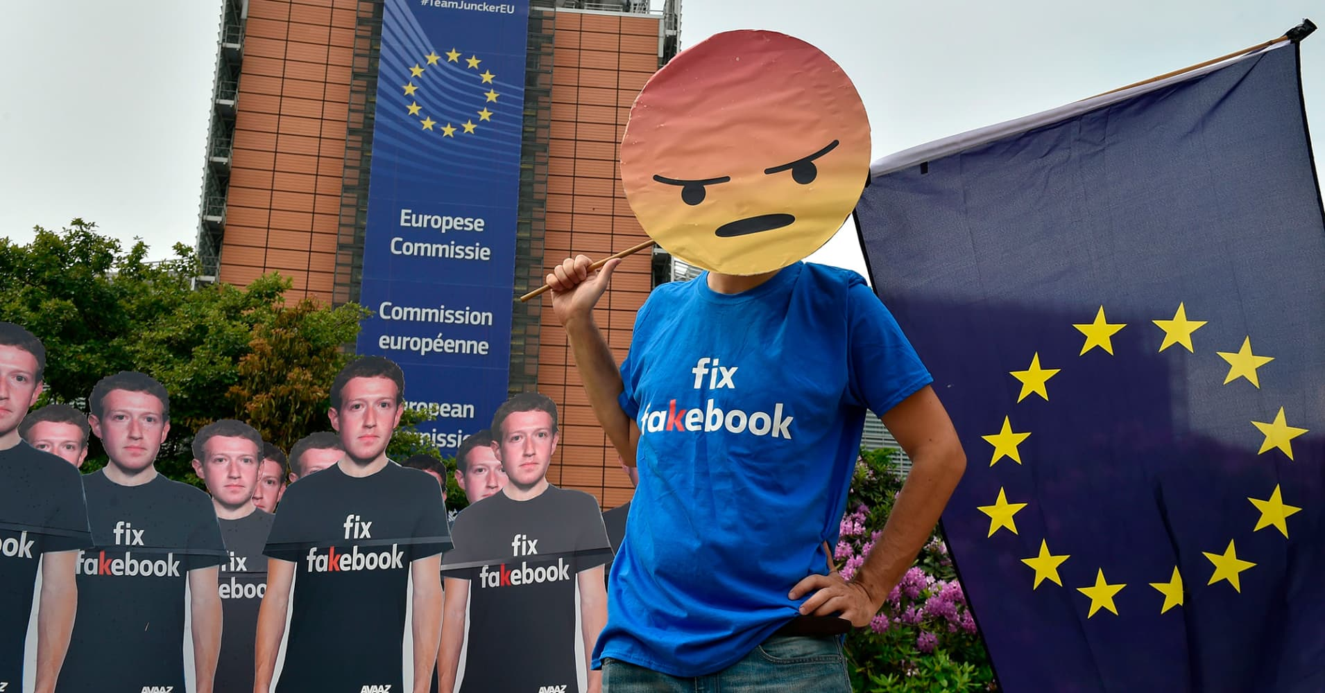 Facebook emails show EU must toughen regulation on social media 'monopoly,' lawmaker says