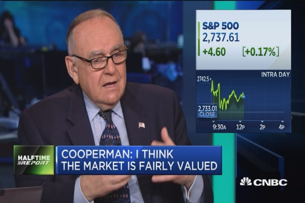 Lee Cooperman on improving the SEC
