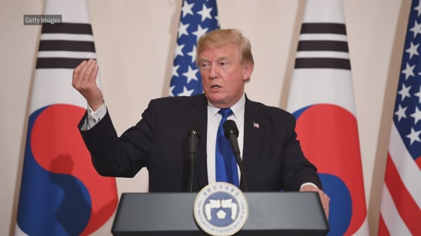 Trump says there's a substantial chance summit with North Korea's Kim will not work out for June