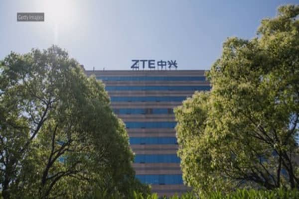 President Trump says there is no deal with China on ZTE