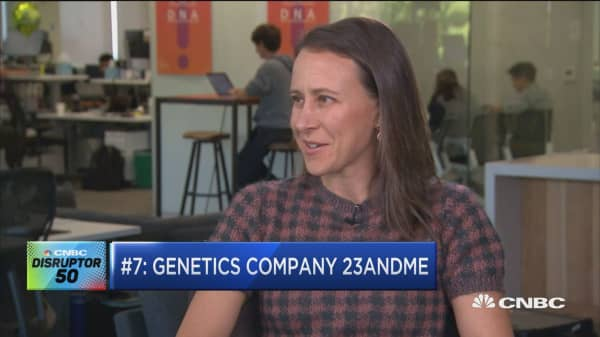 23 & Me disrupts genetic testing