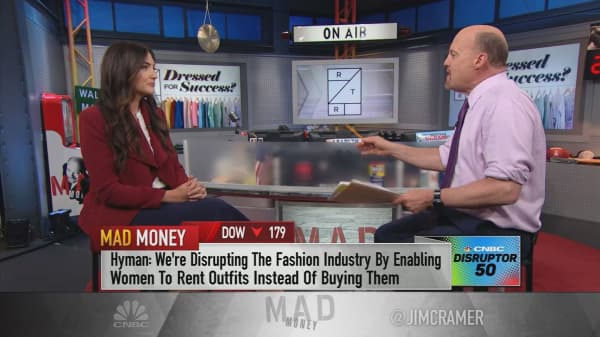 Rent the Runway CEO: People should think about their closets like stock portfolios