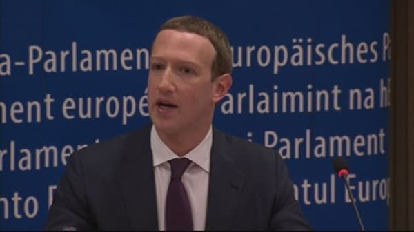 Mark Zuckerberg's testimony before the European Parliament: The four key moments