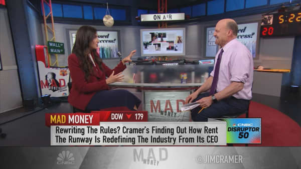 Closets are like stock portfolios: Rent the Runway CEO
