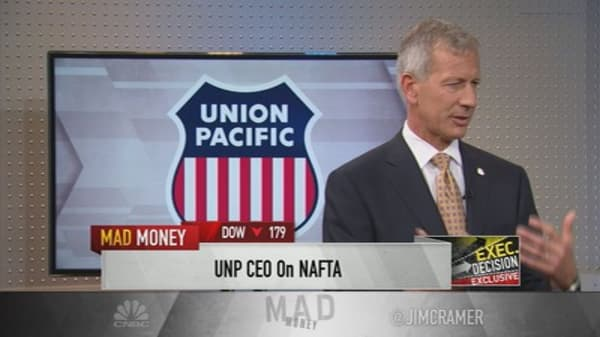 Railroad CEO 'worried about NAFTA'