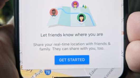 CNBC Tech: Google Maps