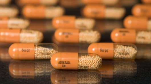 30mg tablets of Shire Plc's Adderall XR.