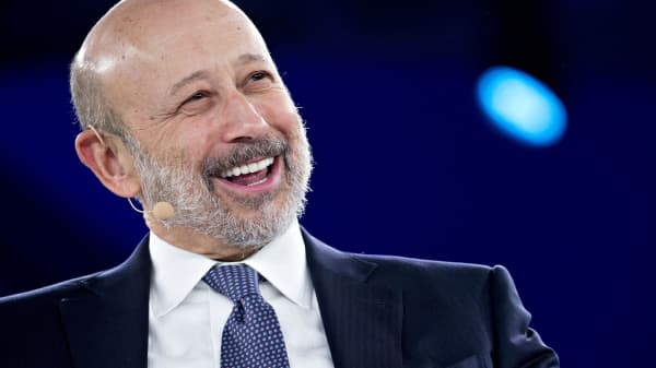 Lloyd Blankfein, chairman and chief executive officer of Goldman Sachs Group Inc.
