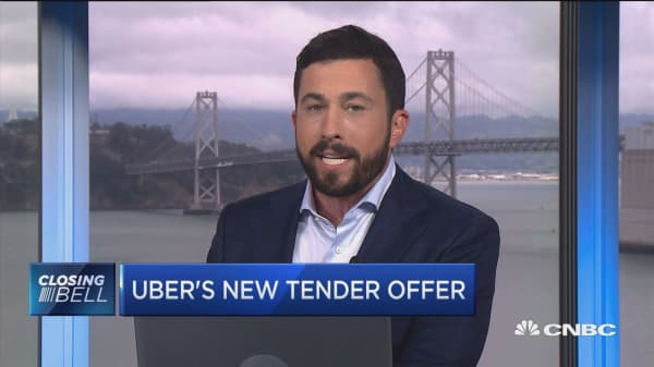 Uber's new tender offer