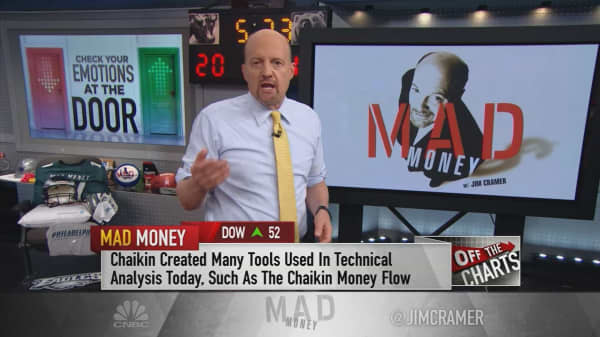Cramer's charts suggest investors buy Akamai and sell Walmart