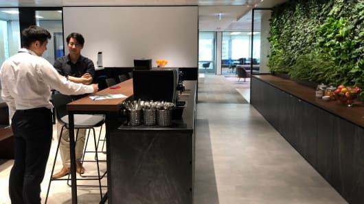 Point72's Hong Kong office
