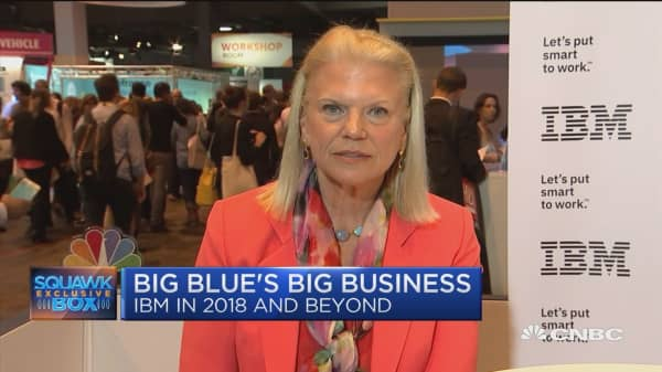 IBM CEO: Our blockchain runs on our public cloud