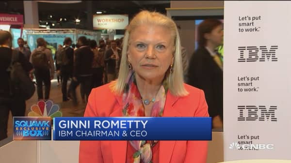 IBM CEO: We have to have trust in technology