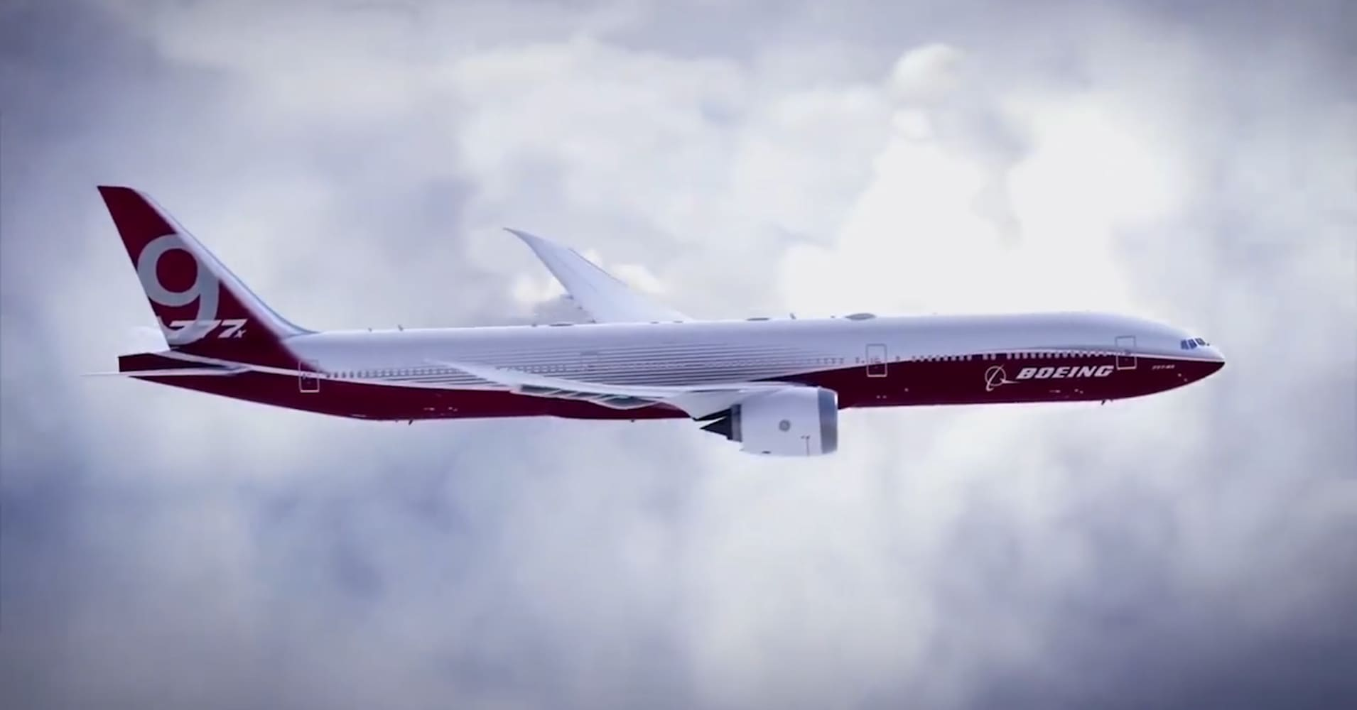 New Boeing 777 will have folding wings