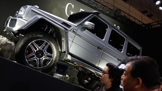 Mercedes-Benz G550 4x4 SUV