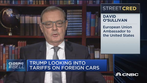Trump looking into tariffs on foreign cars