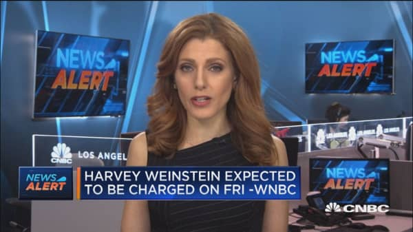 Harvey Weinstein expected to surrender himself to face charges in New York: WNBC