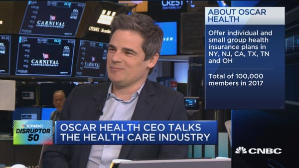 Oscar Health CEO: We're a much more consumer-friendly insurance company