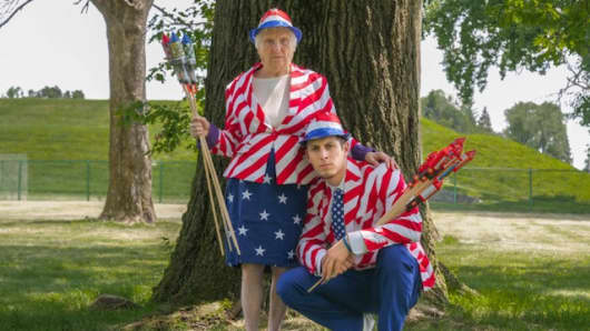 Image of: Iconic Vines This 91yearold Grandma Became Viral Comedy Hit With Her Grandson Who Learned how Awesome Old People Are Cnbccom Ross And Granny Comedy Duo Find Viral Success Shes 91 Hes 25