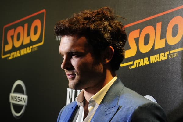 Alden Ehrenreich plays Han Solo in the latest Star Wars movie