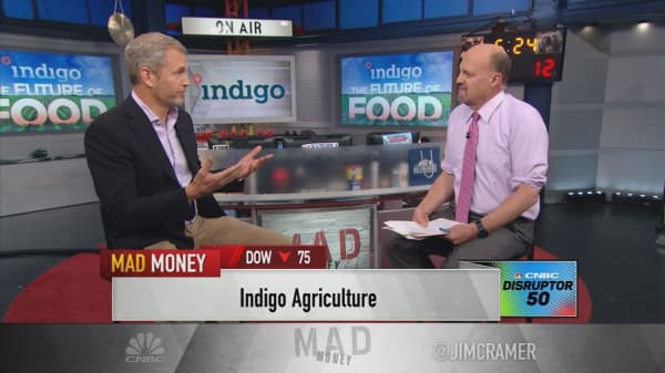 Indigo Agriculture CEO seeks 'revolution in agriculture'